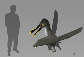 Coloborhynchus sp. by AlternatePrehistory