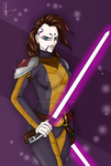 Assajj Ventress after Clone Wars by Chyche
