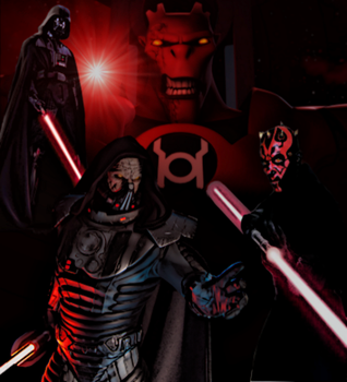 Red Lantern Sith Lords by ComicMultiverse
