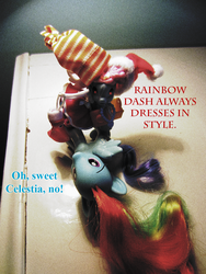 Word Got Out That I Was Styling Rainbow Dash. . . by countschlick