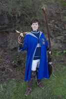 Ravenclaw quidditch player cosplay by DashyProps