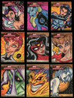 Marvel Masterpieces 2 FINAL by PatCarlucci