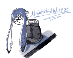 Inktober: Inkling :D by nightwindwolf95