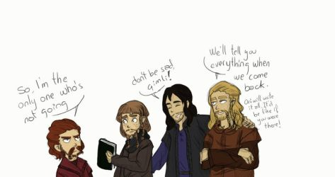 Young dwarves by PauPaufg