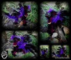 Gerieam - Handmade OOAK Poseable Dragon - SOLD by SonsationalCreations