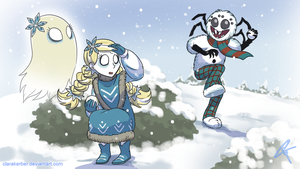 Snowball Fight by ClaraKerber
