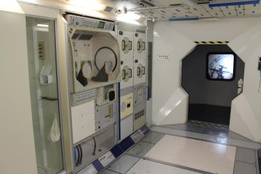 Space Station Interior 3 by fuguestock