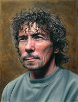Portrait of Russell by NewAgeTraveller
