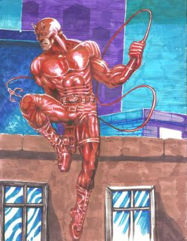 daredevil by goldbrandonium