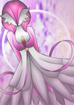 Zaira (Gardevoir OC) by Shiningstarlight14