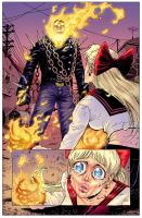 Ghost Rider Tony Moore by Fatboy73