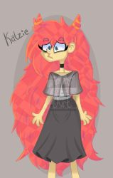 Oc:Katzie by mellaly
