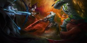Dota2 Art - Choo Kiau Ping a by Zen-Is