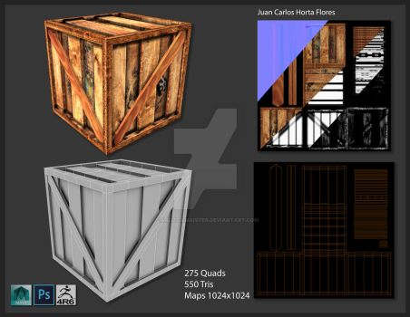 Box modeling and texturing 02 by Carlitoxmaister