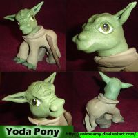 Yoda Pony by AnimeAmy