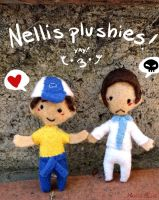 Nellis plushies by Martiverse
