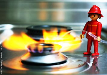 ISPP2: Firefighter by chabruphotography