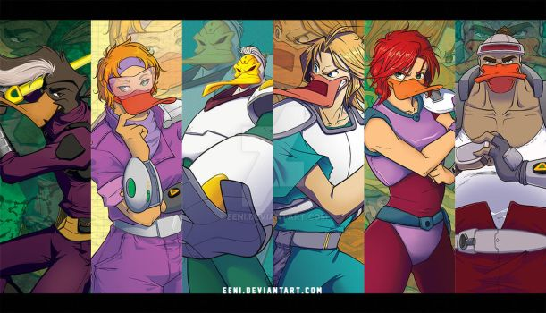 Mighty Ducks Animated by Eeni