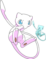 151 - Mew - Art v.4 by Tails19950