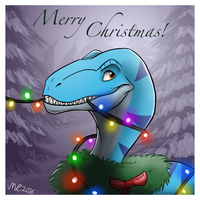 A Raptor Christmas! by MightyRaptor