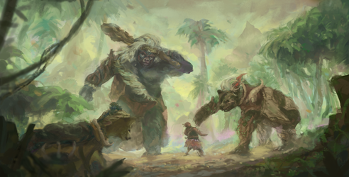 Beast Clan by PrimordialSeven
