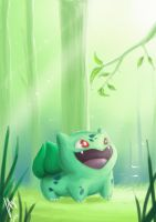 Bulbasaur by VA2O