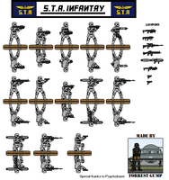 Stratocracy of Taurus Infantry units by Comradesoldat