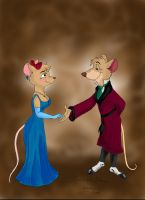 Disney's Basil and Olivia by ChloeMonster