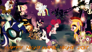 Nightmare Night 2017 Wallpaper by SailorTrekkie92
