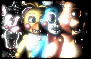 (C4D)The Toys by SpringBonnieNotTrap