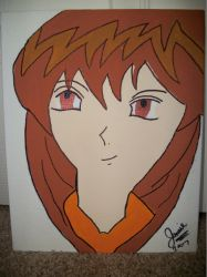 Ugly first Anime painting (seriously no chin?) by FaylinaMeir