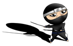 Master Dzen Chibi (for Stephan Andre Fecteau) by TMProjection