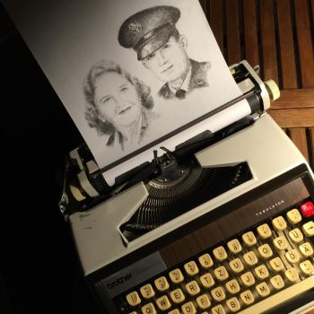 Typewritten Beautiful Couple by lordnkon