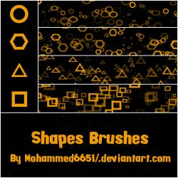 Shapes Brushes by mohammed6651
