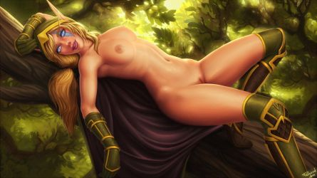 Alleria Windrunner, nsfw by PersonalAmi