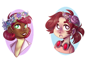 SF: Flower Crowns by pianobelt0