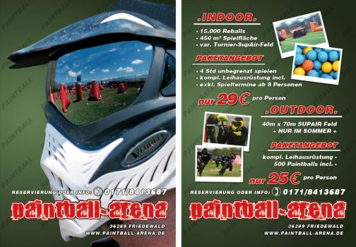 paintball-reball-center-flyer by theSASTA