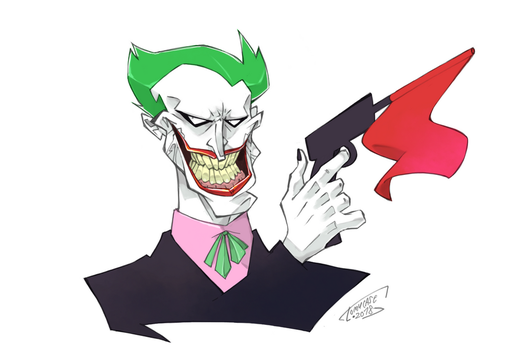 The Joker by Tomycase