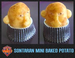 Sontaran Mini Baked Potato by mikedaws