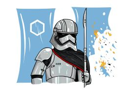 Captain Phasma by The-General-Moe
