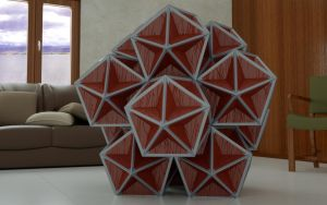 Polyhedral Melange: Home Decor by LuxXeon