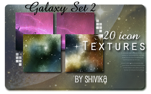 Galaxy Set 2 Icon Textures by spiritcoda