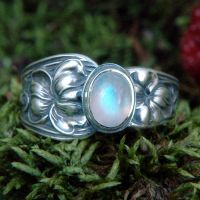 Upcycled Silver Spoon Ring 1 by metalsmitten