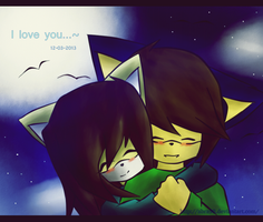 I love you~ by Abra98