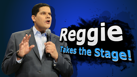 SSB4 Poster - Reggie Takes The Stage by Dxthegod