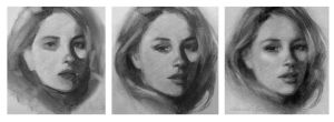 Charcoal Drawing Process by GabrielleBrickey