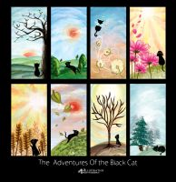 The adventures of d Black Cat by frozerosemary