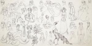 10.05.13____sketches of the week/s by MoonLightRose17