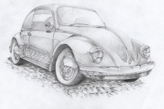VW beetle by swm1
