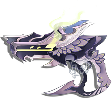 Weapon Adoption re-open: Dragon themed Gun by Forged-Artifacts